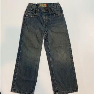 Old Navy Boys Jeans, Adjustable Waist, 6 Slim